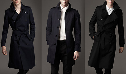 burberry trench barbati elegant